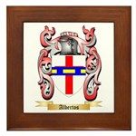 Albertos Framed Tile