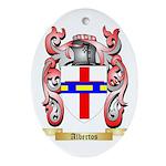 Albertos Ornament (Oval)