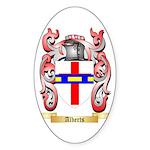 Alberts Sticker (Oval 50 pk)