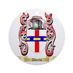 Alberts Ornament (Round)