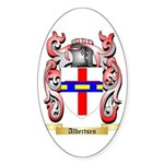Albertsen Sticker (Oval 10 pk)