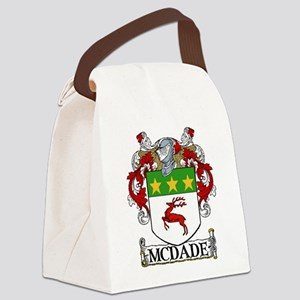 McDade Coat of Arms Canvas Lunch Bag