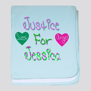 Justice for Jessica baby blanket