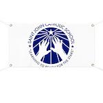 Saint John Catholic School Seal Banner
