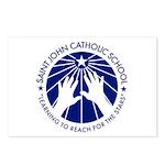 Saint John Catholic School Seal Postcards (Package