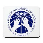 Saint John Catholic School Seal Mousepad