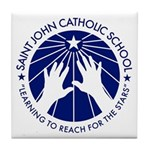 Saint John Catholic School Seal Tile Coaster