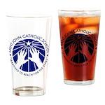 Saint John Catholic School Seal Drinking Glass