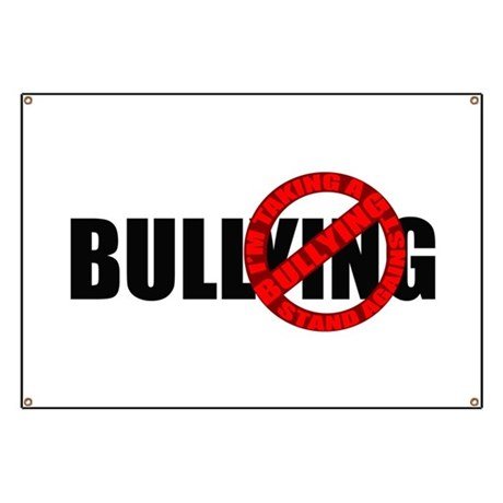 Anti Bullying Banner By Vangoghshmango