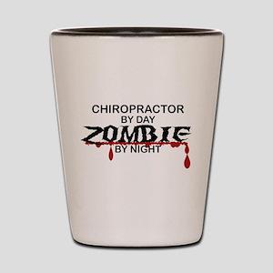 Chiropractor Zombie Shot Glass