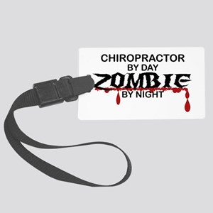 Chiropractor Zombie Large Luggage Tag