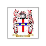 Alberty Square Sticker 3