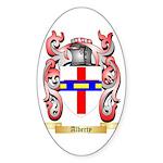 Alberty Sticker (Oval 50 pk)
