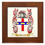 Alberty Framed Tile