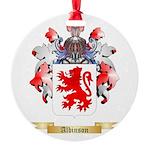Albinson Round Ornament