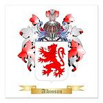 Albinson Square Car Magnet 3