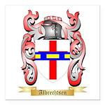 Albrechtsen Square Car Magnet 3