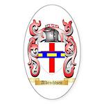 Albrechtsen Sticker (Oval 50 pk)