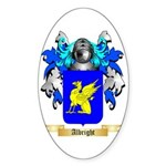 Albright Sticker (Oval 50 pk)
