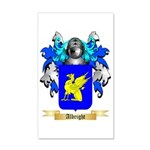 Albright 35x21 Wall Decal