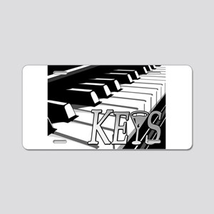 KEYS- MARTINI -PHOTO Aluminum License Plate
