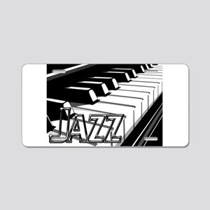 JAZZ- CHROME -PHOTO Aluminum License Plate