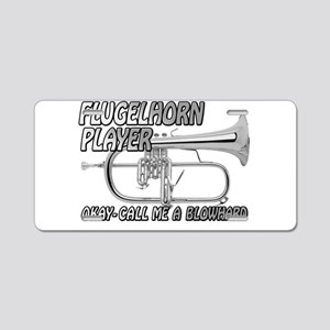 FLUGELHORN PLAYER CALL ME- NEW PHOTO Aluminum