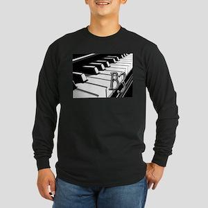 B3- CHROME -PHOTO Long Sleeve Dark T-Shirt