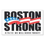 Boston Strong Sticker (Rectangle 10 pk)