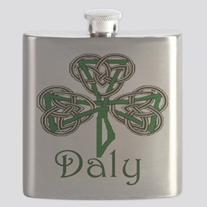 Daly Shamrock Flask