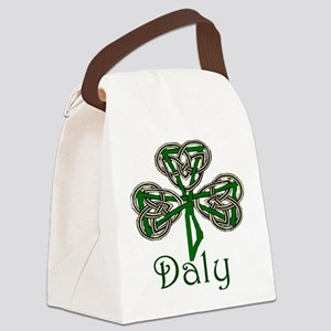 Daly Shamrock Canvas Lunch Bag