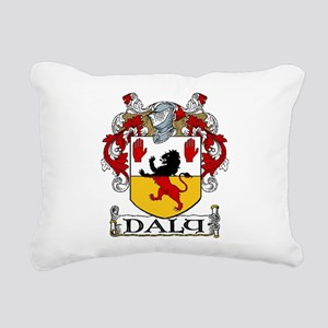 Daly Coat of Arms Rectangular Canvas Pillow