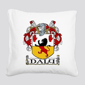 Daly Coat of Arms Square Canvas Pillow
