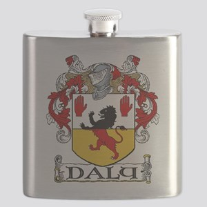 Daly Coat of Arms Flask
