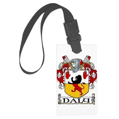 Daly Coat of Arms Large Luggage Tag