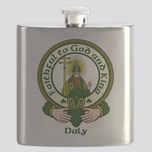 Daly Clan Motto Flask