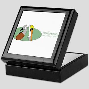 birdybirdy bumper sticker Keepsake Box
