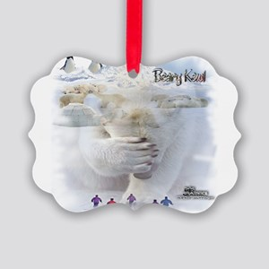 BEARYKEWL2 Picture Ornament