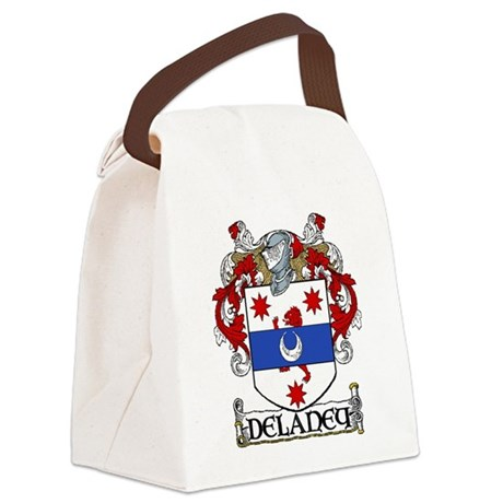 Delaney Coat of Arms Canvas Lunch Bag