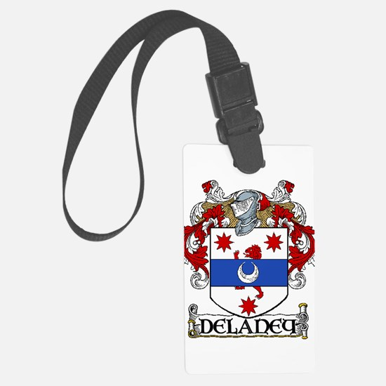 Delaney Coat of Arms Luggage Tag