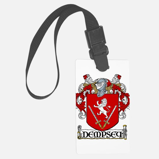 Dempsey Coat of Arms Luggage Tag