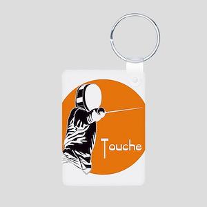 Touche Aluminum Photo Keychain