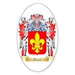 Albutt Sticker (Oval 50 pk)