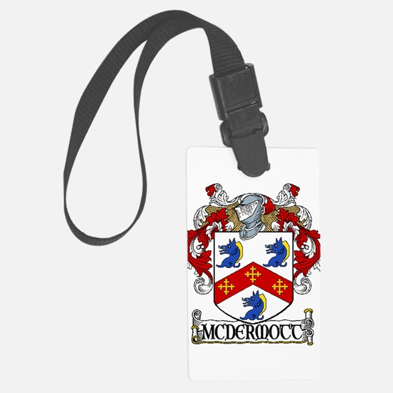 McDermott Coat of Arms Luggage Tag
