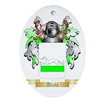 Alcala Ornament (Oval)