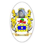 Alcantarilla Sticker (Oval)