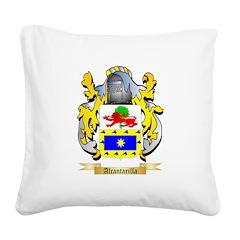Alcantarilla Square Canvas Pillow