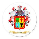 Alcaraz Round Car Magnet