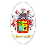 Alcaraz Sticker (Oval 10 pk)