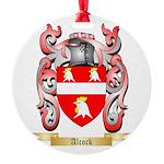 Alcock Round Ornament
